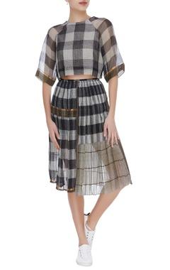 Kota silk dual toned skirt