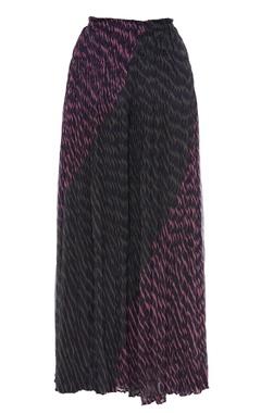 Kota cotton leheriya dyed skirt