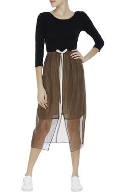 Kota silk shiny skirt