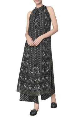 Anita Dongre Halter neck ranthambore forest printed tunic