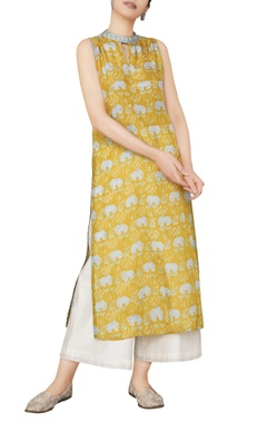 Anita Dongre  Jungle inspired elephant printed kurta