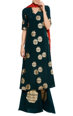 Masaba Tribal vase printed kurta set