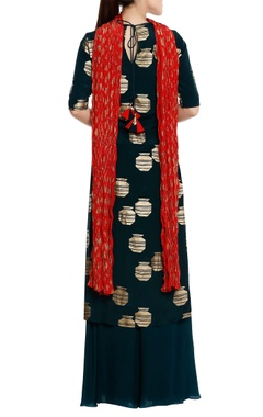 Tribal vase printed kurta set