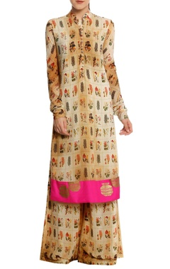 Masaba Burning garden' printed kurta set