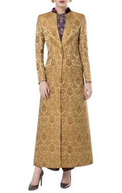 Rocky Star Brocade embroidered sherwani style over jacket