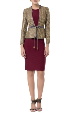 ROCKY STAR Sequin embroidered blazer jacket