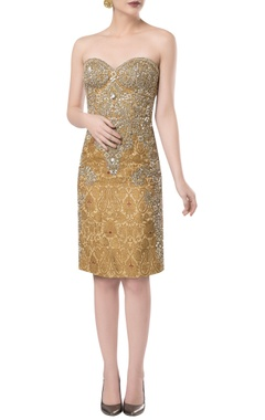 ROCKY STAR Embroidered short dress