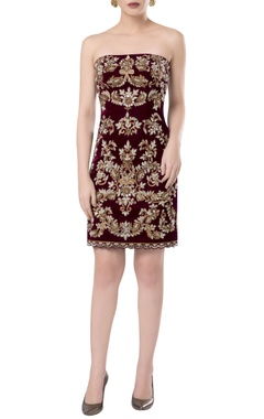 ROCKY STAR Hand embrodiered short dress