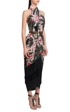 Palmera wrap style cover-up