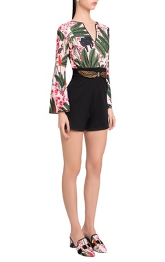 Shivan and Narresh Bell sleeved playsuit