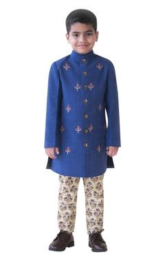 Pure cotton sherwani with pyjamas