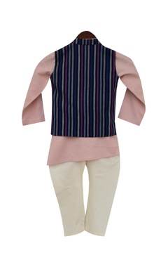 Nehru jacket with kurta & churidar
