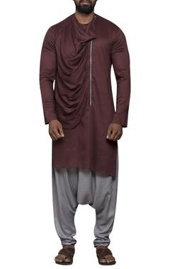 Sadan Pande - Men Drape style kurta