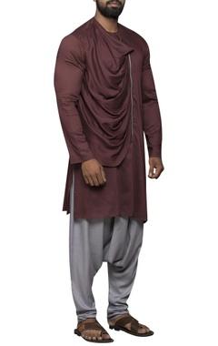 Drape style kurta