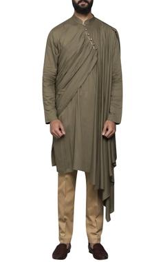 Sadan Pande - Men Pleated drape kurta