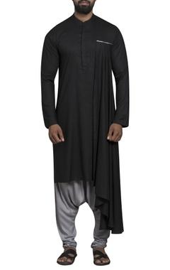 Sadan Pande - Men Side drape kurta