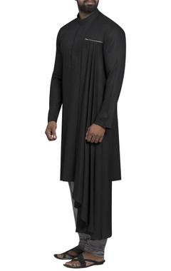 Side drape kurta