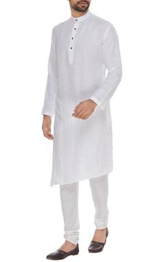 Linen asymmetric kurta