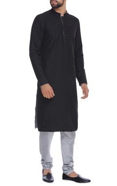 Bubber Couture - Men Pintuck kurta with churidar