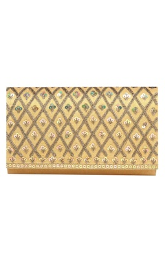Vian Sequin & bead clutch with detachable chain
