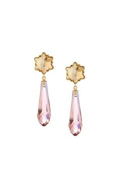 CONFLUENCE - Crystals from Swarovski Suneet Varma drop earrings
