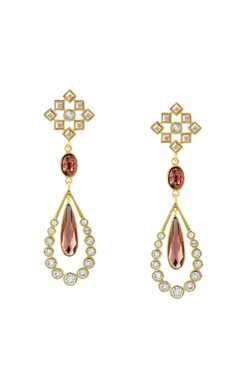 CONFLUENCE - Crystals from Swarovski Suneet Varma star shape drop earrings