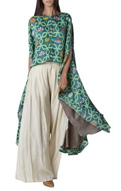 Swati Vijaivargie High low kurta with flared pants