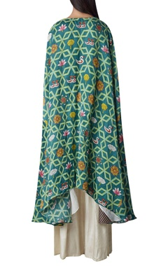 High low kurta with flared pants
