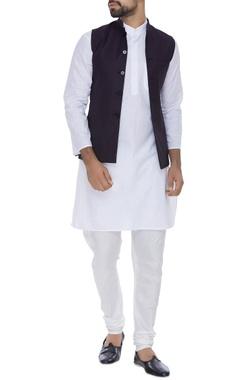 SS HOMME- Sarah & Sandeep Classic woolen nehru jacket