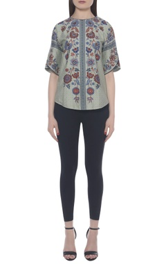 Namrata Joshipura Hand embroidered printed top