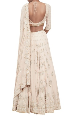 Chikankari embroidered lehenga set