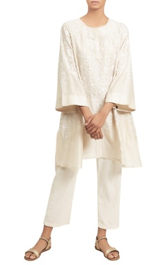 Nakul Sen Embroidered tunic with pants