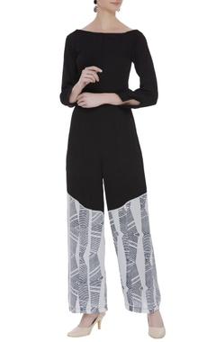 Vedika M Block printed jumpsuit