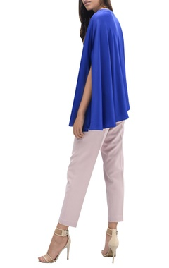 Front button draped top