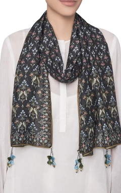 Ranthambore forest inspired digital printed stole