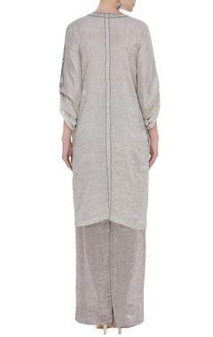 Button down kurta with pants