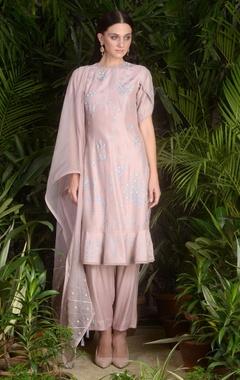 Sahil Kochhar Embroidered frilly kurta set