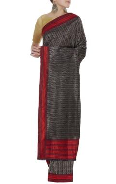 Handwoven banarasi sari & unstitched blouse