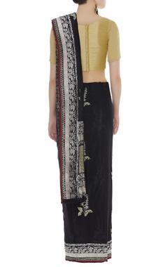 Banarasi handwoven sari & unstitched blouse