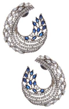 Statement vintage hoop earrings