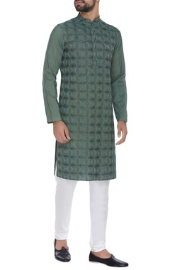 Chatenya Mittal Embroidered kurta with pants
