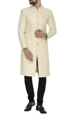 Chatenya Mittal Zari embroidered sherwani set
