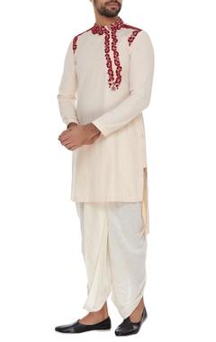 Embroidered short kurta