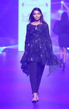 Pankaj & Nidhi Organza embellished jacket