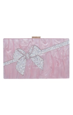 House Of Bio Bow box clutch