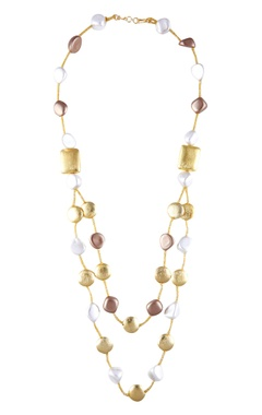 Shilpa Purii Double layer necklace