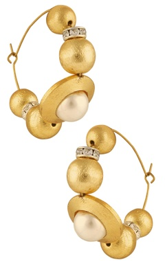 Shilpa Purii Classic pearl earrings