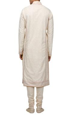 Aari embroidered kurta set
