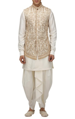 Tarun Tahiliani - Men Dori embroidered bundhi jacket
