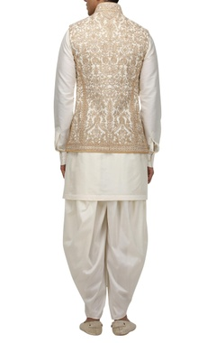 Dori embroidered bundhi jacket